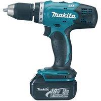 Machine Mart Xtra Makita DDF453RFE 13mm Drill Driver 18V (2x3.0Ah Batteries)