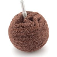 Flexipads 75mm/3 Maroon Very Fine Scruff Ball (6mm Spindle Mount)