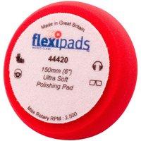 Flexipads Soft Red Finishing Velcro Foam