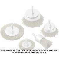 National Abrasives 50mm Wire Mounted Brush (6mm Spindle)