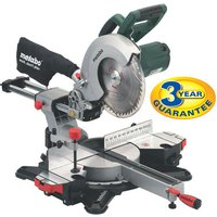 Machine Mart Xtra Metabo KGS216 Crosscut and Mitre Saw (230V)