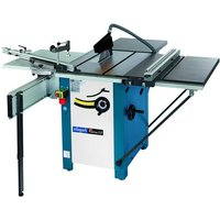 Scheppach Scheppach Precisa 3.0 Sawbench With 2m Sliding Table Carriage & Table Width Extender (230V)