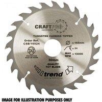 Trend Trend CSB/15024 Craft Saw Blade 150x20mm 24T