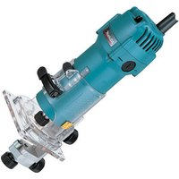 Machine Mart Xtra Makita 3707F 1/4 Laminate Trimmer with Light