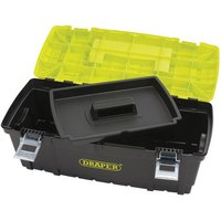 Draper Draper 24 Toolbox with Metal Latches
