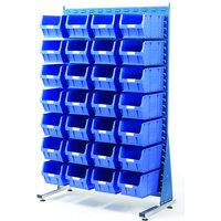 Barton Storage Topstore MSS1.5 Spacemaster TC Single Sided Bin Kit 28 x TC5 Blue 011520C
