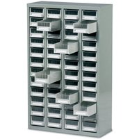 Machine Mart Xtra Barton Topdrawer Cabinet - 48 Drawers without Doors