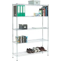 Clarke Clarke CS530 5 Shelf Wire Shelving Unit