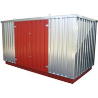 Machine Mart Xtra Armorgard FlamStor FS4.0M Collapsible Walk-In Hazardous Storage Unit