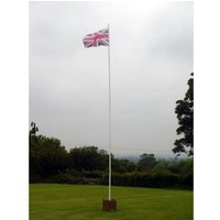 One Stop Promotions One Stop Promotions Value 6 Metre 2 Section Flagpole TP-VALFP6-2