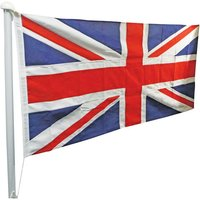One Stop Promotions One Stop Promotions Union Jack Sewn Flag with Rope & Toggle (6x3ft)