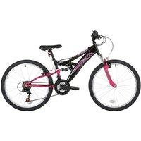 Flite Flite Taser 24 Wheel Dual Suspension Mountain Bike Girls (14 Frame)