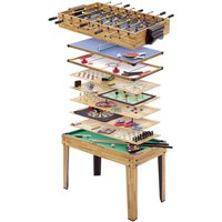 Machine Mart Xtra Mightymast Leisure 34 in 1 Multiplay Games Table
