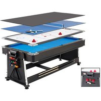 Mightymast Leisure Mightymast Leisure 7ft Revolver 3in1 Pool/Air Hockey/Table Tennis Game