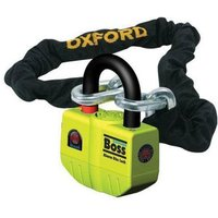 Machine Mart Xtra Oxford OF10 Big Boss Ultra Strong Alarm Lock with 1.2m Chain