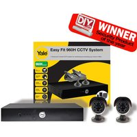 Machine Mart Xtra Yale SCH-802A Easy Fit 960H CCTV System - 2 Cameras