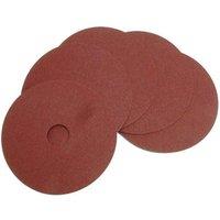 National Abrasives Fibre Backed Alu. Oxide Sanding Disc - 115mm, 80 Grit