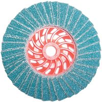 National Abrasives Turbo Zirconium Flap Disc 115mm Grit 60