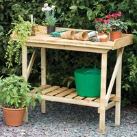 Forest Forest Timber Potting Bench