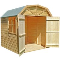Shire Shire Barn 7 x 7 Double Door Shed