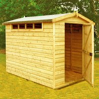 Machine Mart Xtra Shire 10 x 10 Security Apex Shed