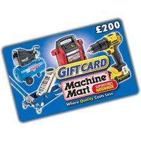 Machine Mart 200 Machine Mart Gift Card