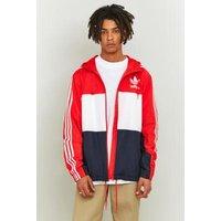 adidas Originals Core Red California Windbreaker, Red