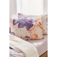 Cabbage Rose Pillowcase Set, Pink