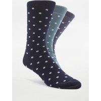 Blue Polka Dot Socks Pack, Assorted
