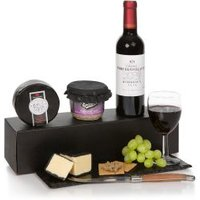 Wine Gift Box With Cheese & Pate