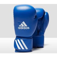 adidas AIBA Approved Boxing Gloves - Blue/White, Blue/White