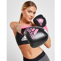 adidas Hybrid 100 Boxing Gloves - Black/Pink - Mens