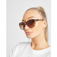 Brookhaven Louise Butterfly Shaped Sunglasses - Brown/Black - Womens