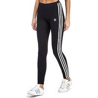 adidas Originals 3-Stripes Leggings - Black - Womens