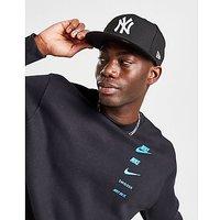 New Era MLB New York Yankees 59FIFTY Fitted Cap - Black/White - Mens