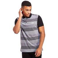 McKenzie Vilas Polo Shirt - Black/Marl Grey - Mens