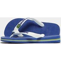 Havaianas Brazil Flip Flops Children - Blue/White - Kids