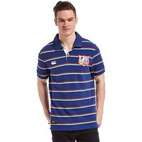 Canterbury British and Irish Lions Striped Polo Shirt - Navy - Mens