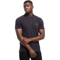 Lyle & Scott Basic Short Sleeve Polo Shirt - Black - Mens