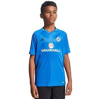 adidas Northern Ireland 2016/17 Training Shirt Junior - Blue - Kids
