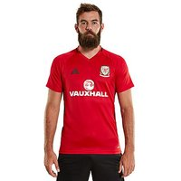 adidas Wales 2016/17 Training Jersey - Red - Mens