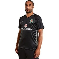 adidas Wales 2016/17 Training Jersey - Black - Mens