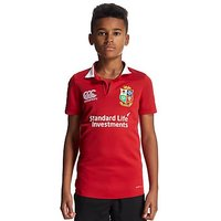 Canterbury British and Irish Lions 2017 Home Shirt Junior - Red - Kids