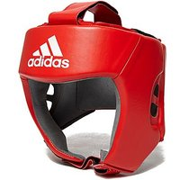 adidas Licensed Boxing Head Guard - Red/Red - Mens