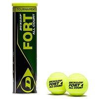 Dunlop Fort All Court Tennis Balls 4 Balls - Mid Yellow/Mid Yellow - Mens