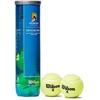 Wilson Australian Open Tennis Balls (4 Balls) - Yellow - Mens