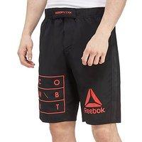 Reebok Train Like a Fighter MMA Shorts - Black - Mens