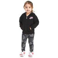 Nike Girls Hoody & Leggings Set Infant - Black/Pink/White - Kids