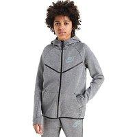 Nike Tech Windrunner Hoody Junior - Carbon/Black - Kids