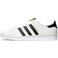 adidas Originals Superstar Weave - White/Black - Mens